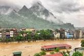 Ngập lụt nặng nề ở Hà Giang không liên quan đến mưa lũ bên Trung Quốc