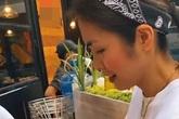 Hình ảnh Tăng Thanh Hà vào bếp tất bật chuẩn bị món khoái khẩu cho Tiên Nguyễn, nhìn cũng đủ biết mối quan hệ thân thiết giữa chị dâu - em chồng
