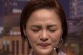 Thu Quỳnh khóc khi chia sẻ về thời điểm sinh con và biến cố hôn nhân