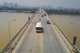 Cấm tuyệt đối ô tô lưu thông qua cầu Thăng Long, phương tiện đi lại thế nào?
