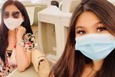 Em gái Lý Hùng cùng con về nước chăm bố