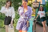 Nhìn dàn mỹ nhân Việt diện quần short ngày hè, học được nhiều công thức phối đồ hay ho