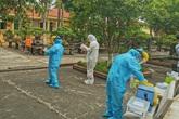 Phong tỏa hơn 200 hộ gia đình gần bệnh nhân COVID-19 mới phát hiện ở Thái Bình