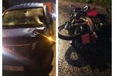 Chạy xe máy vào Đại lộ Thăng Long, cô gái 18 tuổi tử vong thương tâm