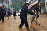 10 nghìn người dân Trung Quốc sống trong biển bùn sau một tuần mưa lũ tồi tệ