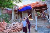 Diễn viên Bảo Thanh khoe nhà xây tặng bà ngoại sắp hoàn thành