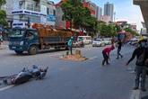 Hà Nội: Tai nạn thương tâm ở Cầu Diễn khiến một thanh niên tử vong