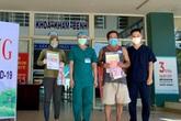 Đà Nẵng: Thêm 2 bệnh nhân COVID-19 được chữa khỏi tại Bệnh viện dã chiến Hòa Vang