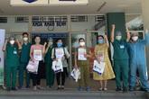 Bệnh viện dã chiến Hòa Vang tiếp tục công bố chữa khỏi COVID-19 cho 4 bệnh nhân