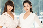 Hoa hậu Kỳ Duyên đọ dáng đẹp bên siêu mẫu Hà Anh