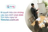 Timviec.com.vn chia sẻ lời khuyên tìm việc làm hiệu quả