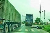 Tạm giữ hình sự lái xe container đâm chết nữ sinh rồi bỏ chạy