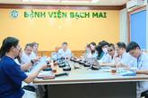 """Cận cảnh buổi hội chẩn trực tuyến cho 5 bệnh nhân ở miền núi tại """"điểm cầu"""" Hà Nội"""