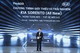 Mẫu xe Sorento thế hệ mới (4.0) – thế hệ sản phẩm mới nhất của thương hiệu kia – đổi mới toàn diện về thiết kế và công nghệ