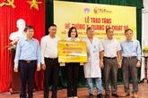 Tập đoàn T&T Group trao tặng hệ thống X-Quang kỹ thuật số hỗ trợ cho huyện Thăng Bình (tỉnh Quảng Nam) phòng chống dịch COVID-19