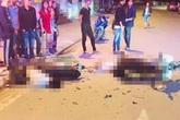 2 thanh niên đi xe máy tử vong sau va chạm mạnh trong đêm ở Sa Pa