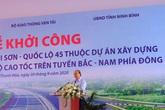 Thủ tướng Nguyễn Xuân Phúc dự lễ khởi công đường cao tốc Bắc - Nam tại Thanh Hóa