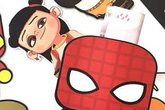 Bao lì xì siêu nhân, Spider Man 3D hút khách dịp Tết 2020