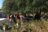 Điều tra vụ người đàn ông tử vong trong tư thế treo cổ trong nghĩa trang