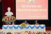 Hội thảo khoa học '90 năm lịch sử vẻ vang của Đảng bộ tỉnh Hà Tĩnh'