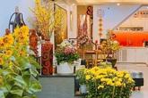 Nhà được trang hoàng ngập sắc hoa của Hoa hậu Khánh Vân