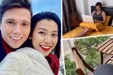 Hoàng Oanh khoe căn hộ và cuộc sống bên Singapore cùng chồng Tây