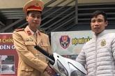 Hà Nội: Thấy tổ công tác 141, kẻ trộm để lại xe máy trên vỉa hè rồi bỏ chạy