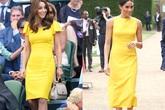 5 bằng chứng cho thấy Công nương Kate khéo léo học theo em dâu Meghan Markle để trở nên nổi bật hơn