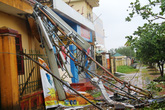 Cận cảnh bão số 5 đổ bộ vào Quảng Ninh