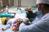 Tập huấn cán bộ y tế xã-phường-thị trấn kỹ thuật lấy máu gót chân ở trẻ sơ sinh
