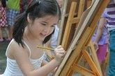 Thi vẽ tranh trên đèn lồng cho các bé từ 6 đến 7 tuổi