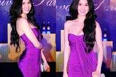Những chiếc đầm tím gợi cảm nhất của sao Việt