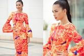 Diện váy họa tiết đẹp như mỹ nhân Việt