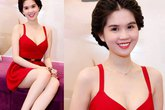 Những mẫu váy lộ vai trần hấp dẫn của mỹ nhân Việt