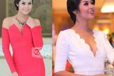 Kiều nữ Việt sexy với trang phục khoe vòng 1 quyến rũ