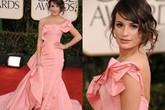 Mặc màu hồng phớt đáng yêu như mỹ nhân