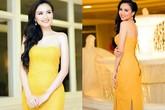Diện sắc vàng đẹp mê hồn như mỹ nhân Việt