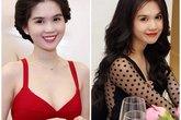 Rẽ tóc ngôi giữa đẹp như Sao Việt
