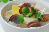 Nấu canh ngao đậu hũ cho ngày oi nóng