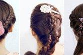 Ba kiểu tóc tết đơn giản cho hè năng động