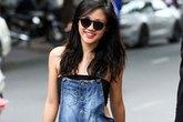 Sao Việt lạ mắt với mốt quần yếm