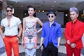 Thanh Hằng diện váy 3D đi chấm casting