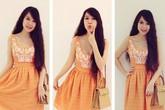 Phong cách thời trang trẻ trung của vợ Lý Hải