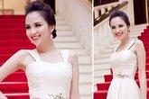 Kiều nữ Việt đẹp mong manh váy trắng