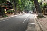 Đường phố Hà Nội vắng lặng tiễn biệt Đại tướng