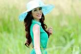 Hoa hậu Yến Nhi duyên dáng cùng nón thu