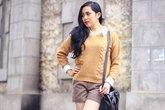 4 cách diện áo len đơn giản mà đẹp