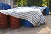 Cận cảnh hóa chất độc hại mà Nicotex Thanh Thái chôn xuống lòng đất ở Thanh Hóa