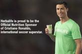 Herbalife - Nhà tài trợ dinh dưỡng chính thức cho ngôi sao bóng đá Cristiano Ronaldo