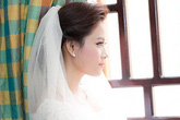 Hoa hậu Biển Vân Anh phóng sinh chim trong ngày cưới